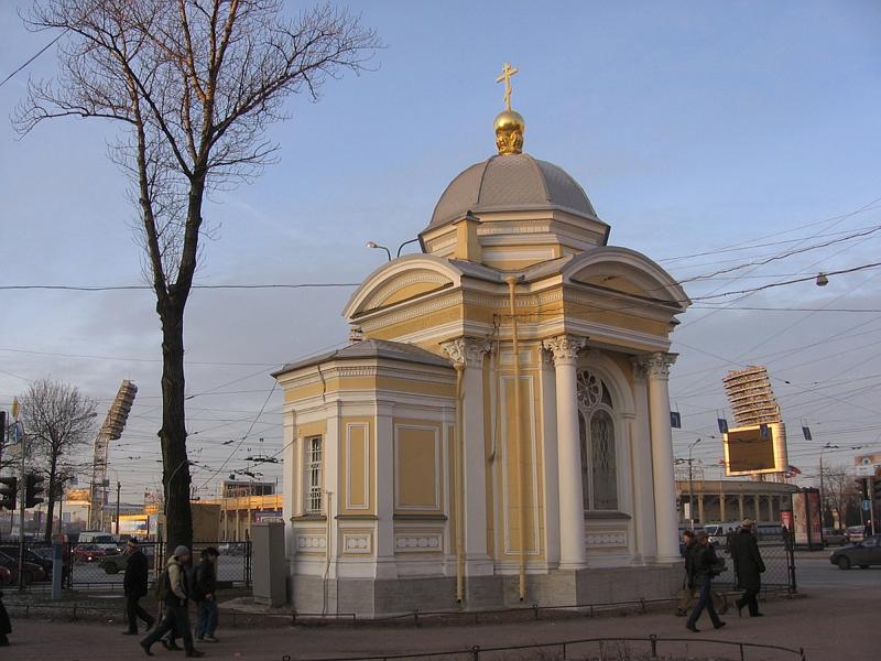 Часовня Князь Владимирского Собора. Реставрация кровли