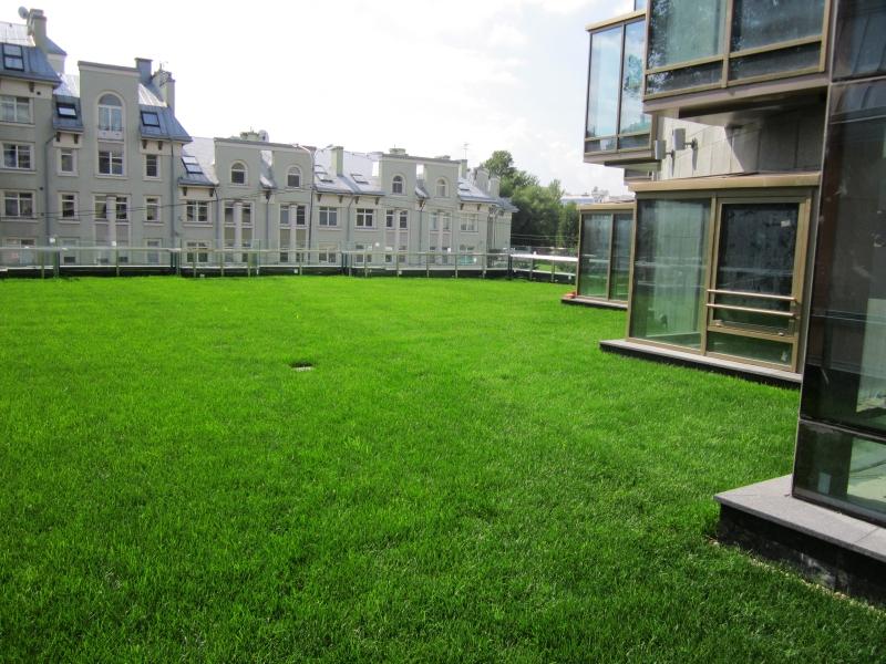 Элитный жилой комплекс Диадема, Зеленая кровля