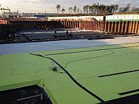 Станция метро Шушары (Южная). Гидроизоляция плиты фундамента. Площадь – 10 000 м2