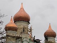 Церковь Трех Святителей Вселенских Воскресенского Новодевичьего монастыря