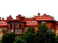 Гостинично-развлекательный комплекс в г.Пушкин, Мансардная кровля
